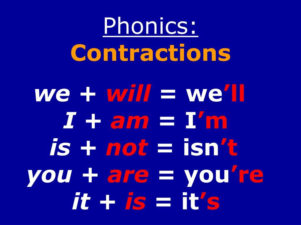 Phonics: