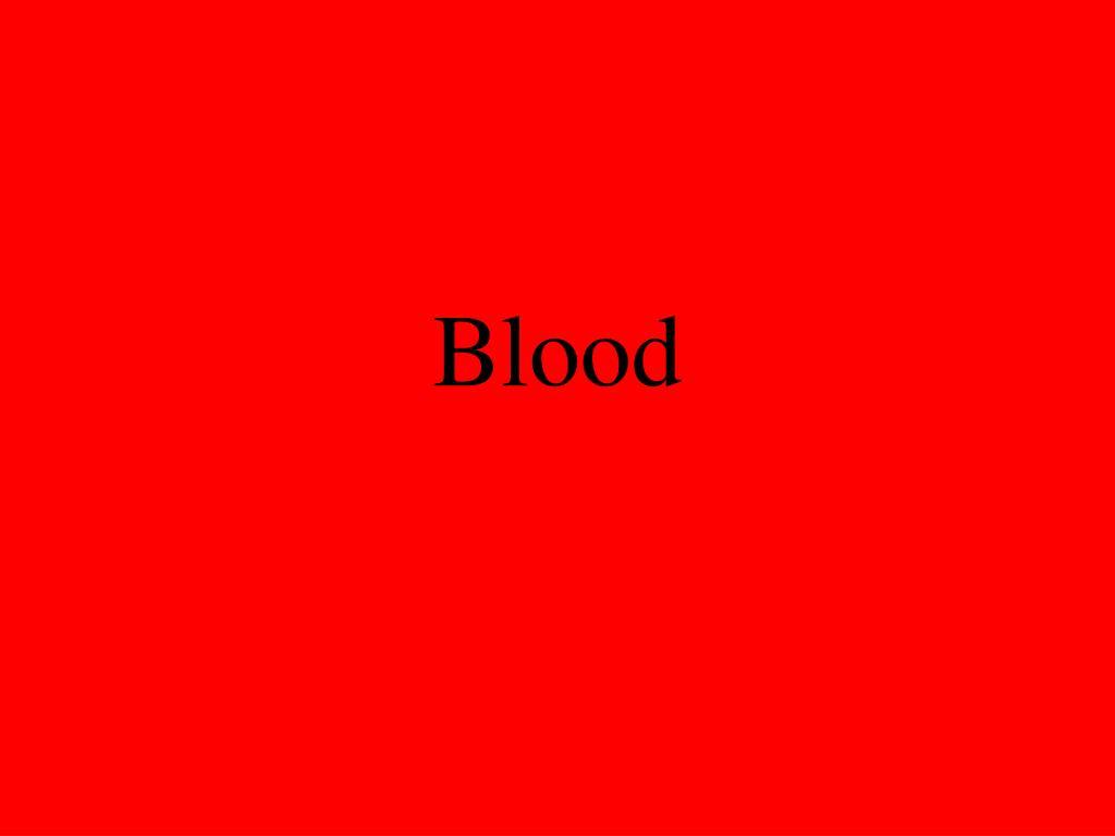 blood l.