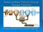 reducing water pollution through sewage treatment39