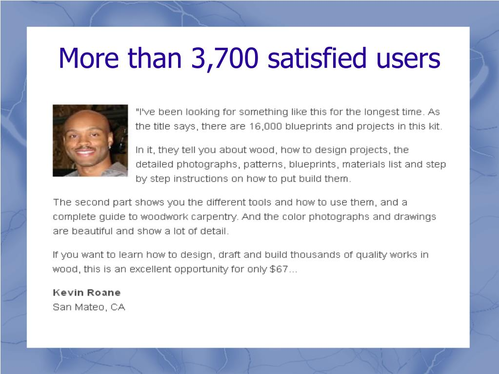 More than 3,700 satisfied users