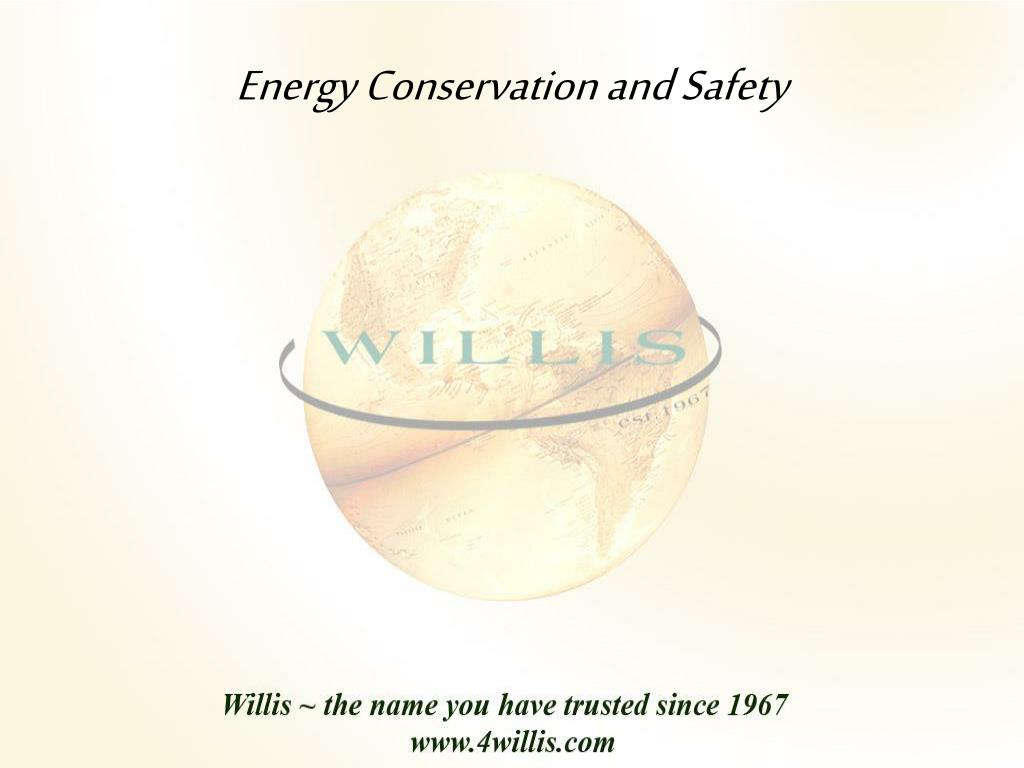 energy conservation and safety l.