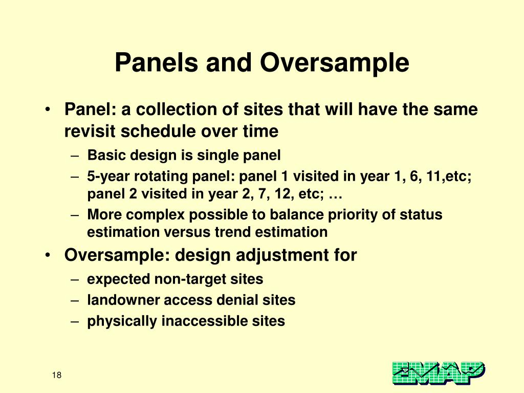 Panels and Oversample