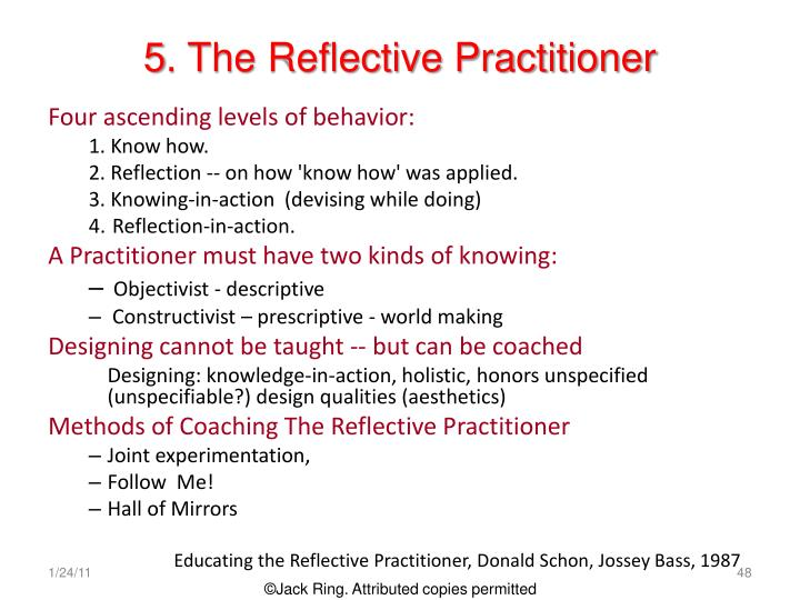 schon the reflective practitioner pdf