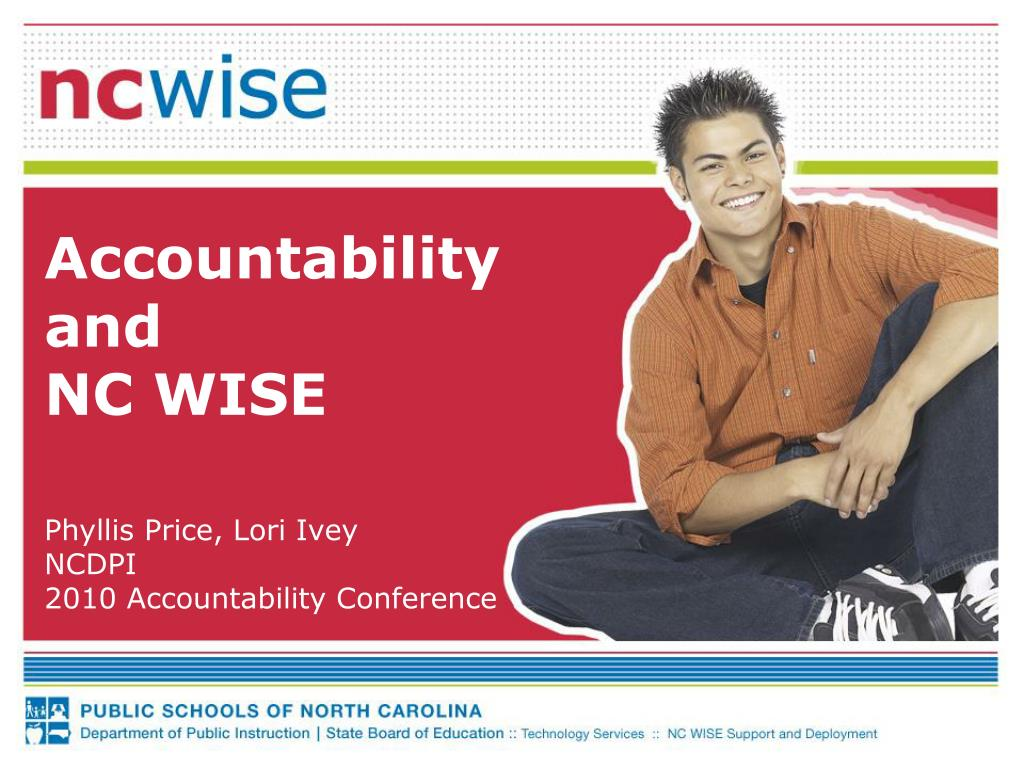 accountability and nc wise l.