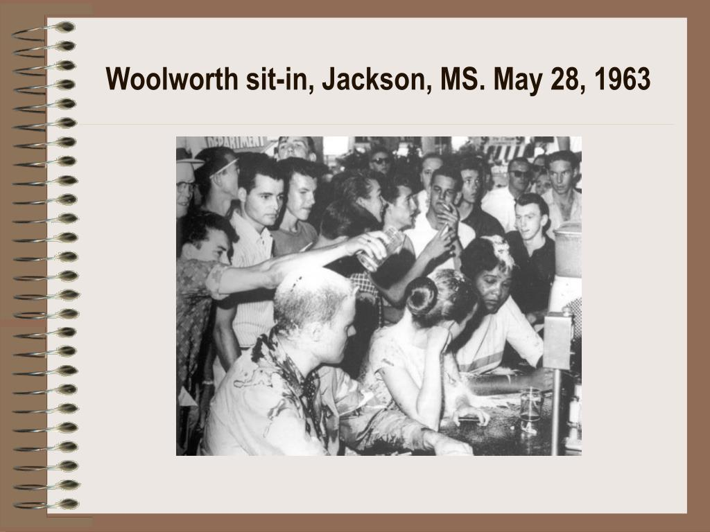 Woolworth sit-in, Jackson, MS. May 28, 1963