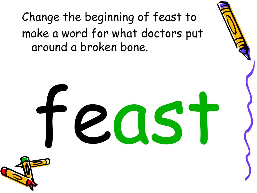 Change the beginning of feast to