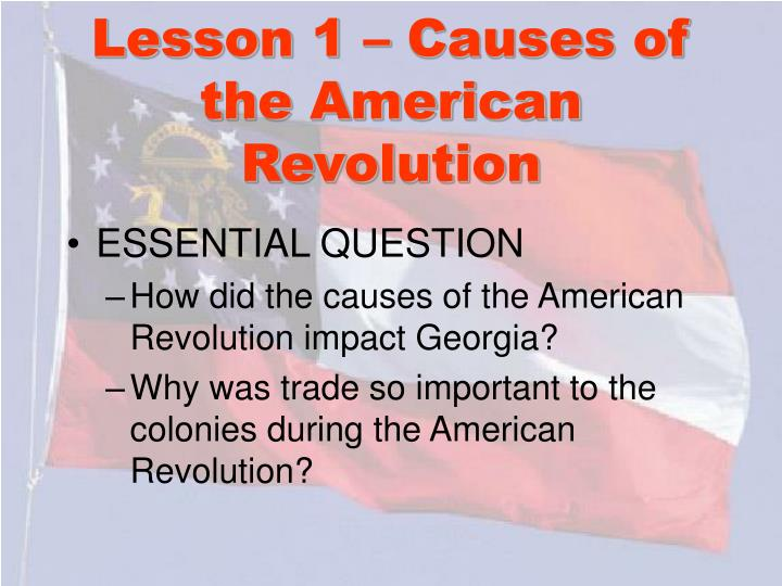understanding the causes of the american revolution The american revolution has been traditionally studied as a single, unified movement of colonial as well as this description makes for a nice grade school story, it is important to understand that in causes of the french revolution the french revolution has been viewed as the major turning.