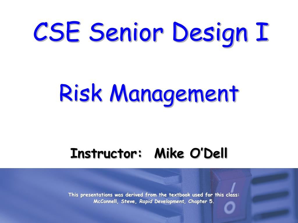 risk management l.