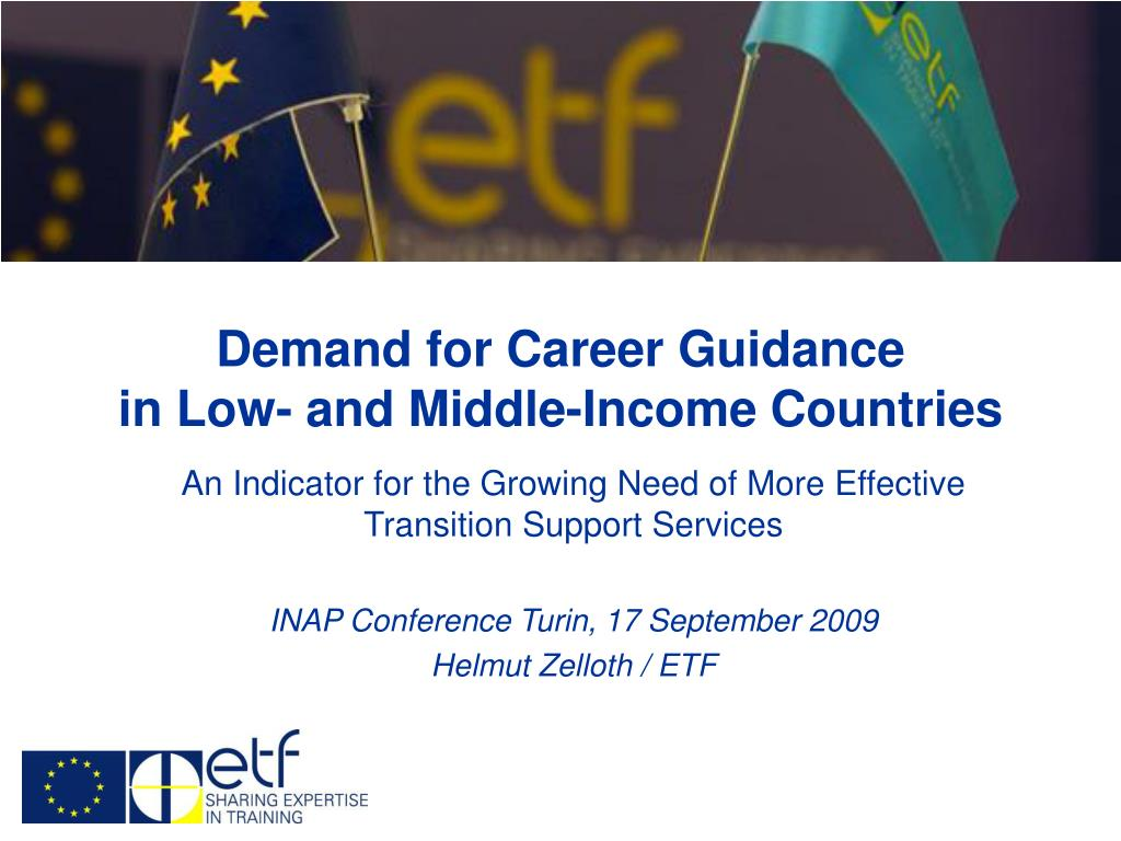 demand for career guidance in low and middle income countries l.