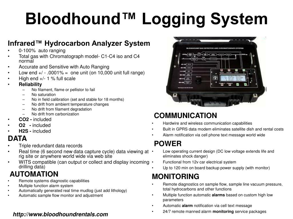 bloodhound logging system l.