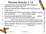 review activity 1 14