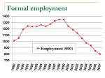 formal employment