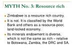 myth no 3 resource rich