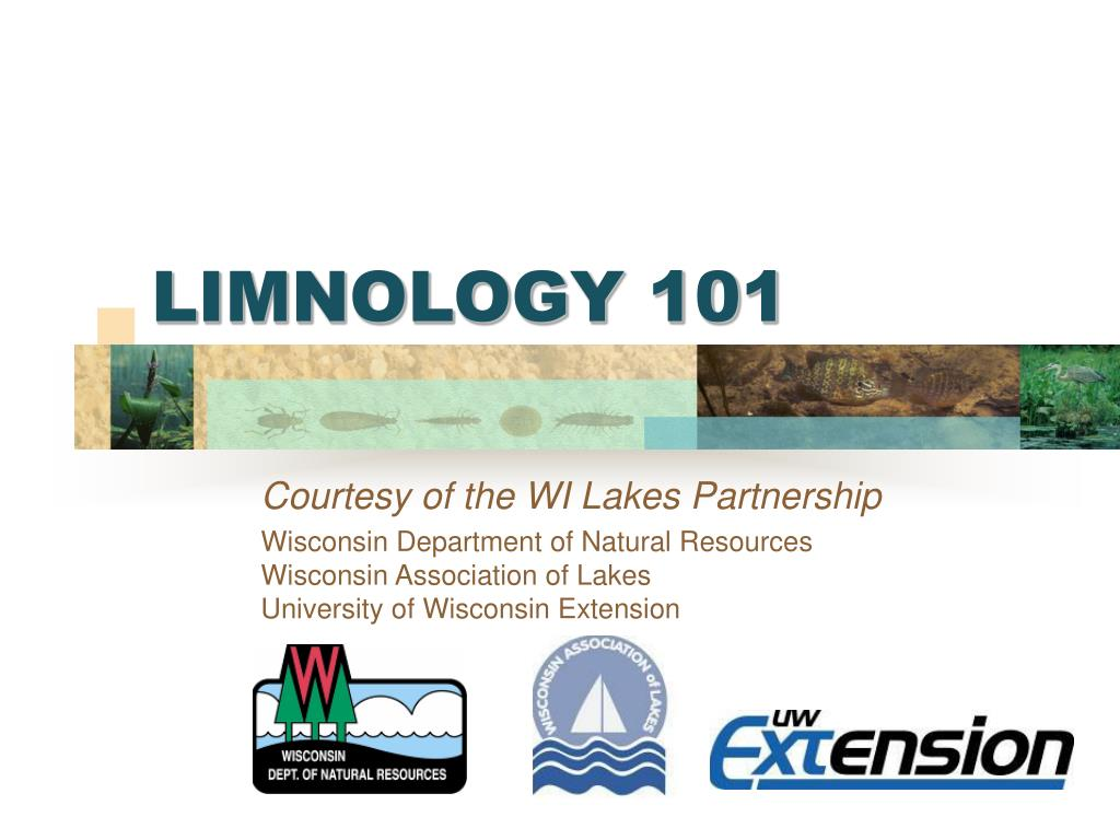 limnology 101 l.