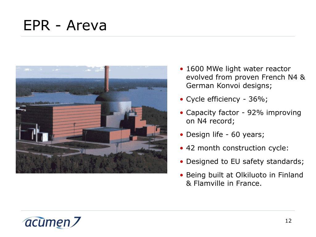 EPR - Areva