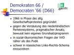 demokraten 66 democraten 66 d66