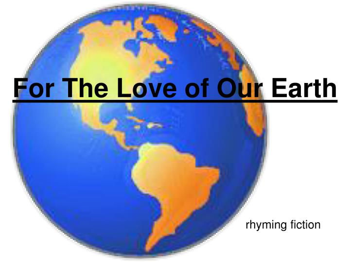 for the love of our earth n.