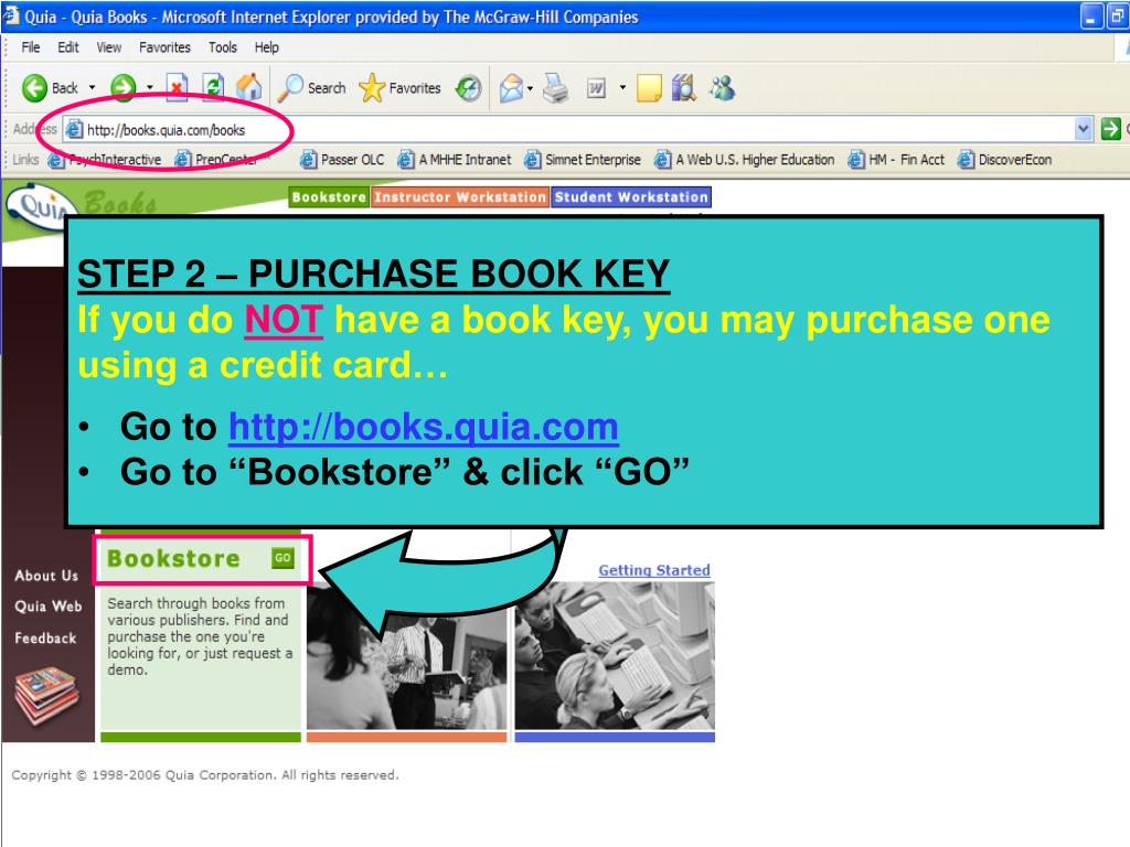 STEP 2 – PURCHASE BOOK KEY