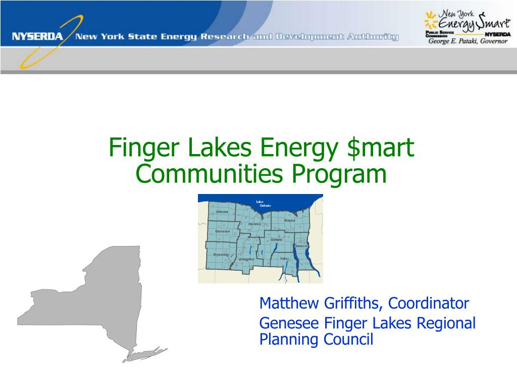 finger lakes energy mart communities program l.