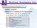 variable contribution analysis36