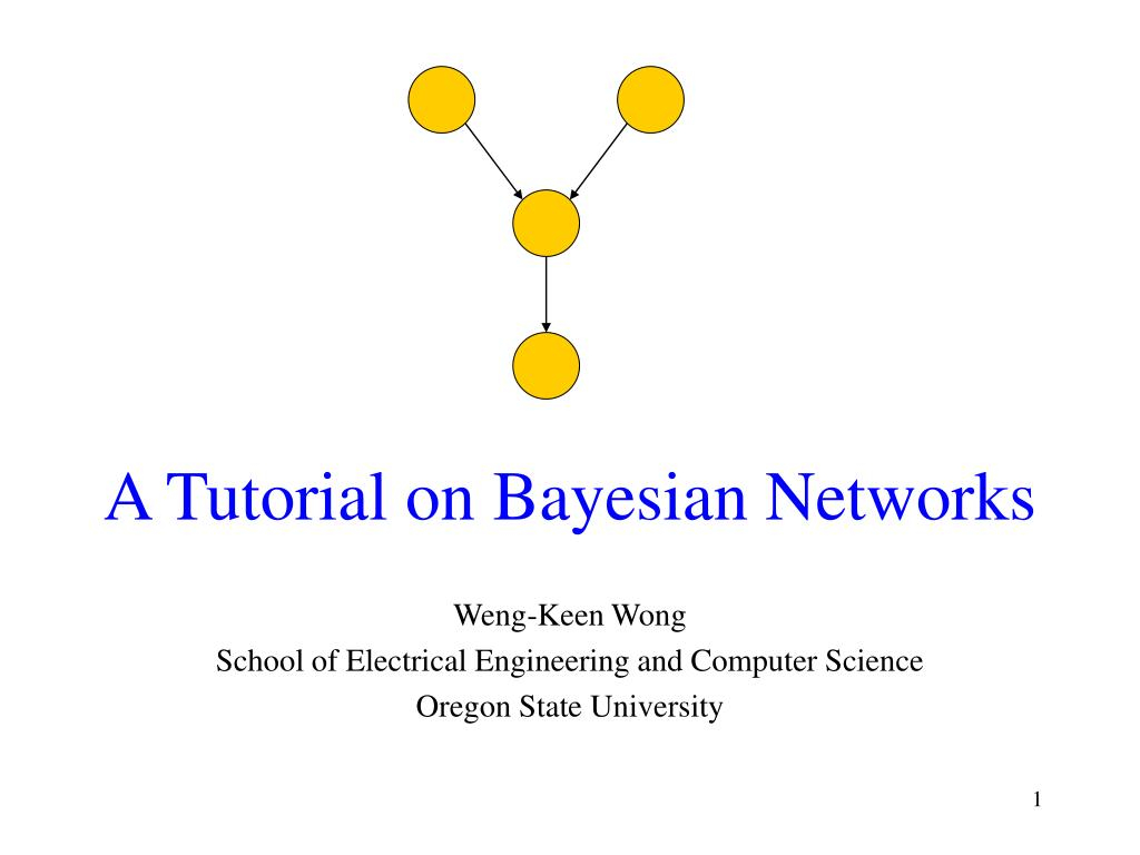 a tutorial on bayesian networks l.