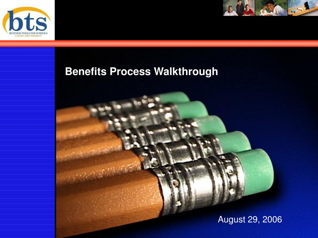benefits process walkthrough l.