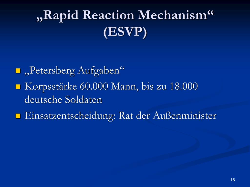 """Rapid Reaction Mechanism"""