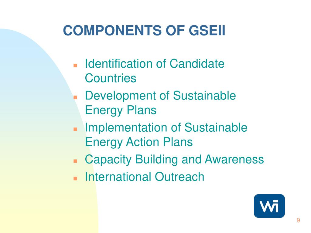COMPONENTS OF GSEII