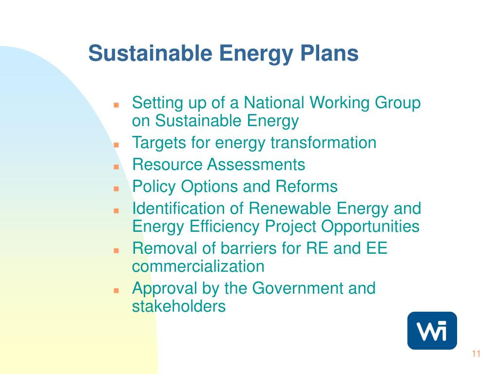 Sustainable Energy Plans