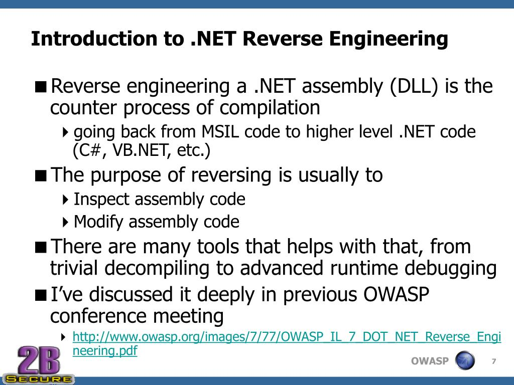 Introduction to .NET Reverse Engineering