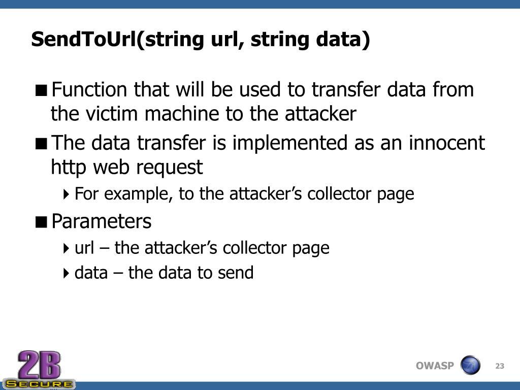 SendToUrl(string url, string data)