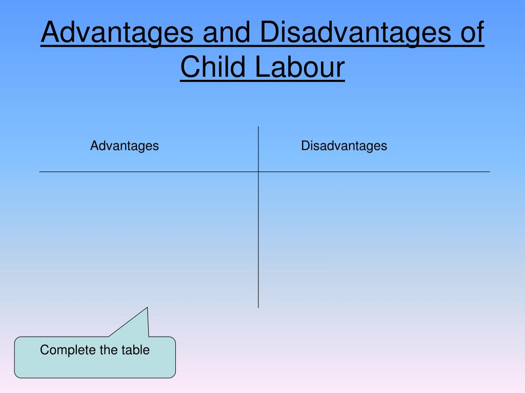 advantages and disadvantages for children if Advantages and disadvantages of playing video games computers have become an integral part of our lives and our homes this has given children an easy access to video games and a lot of them play them all the time.