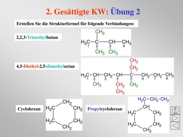 PPT - Nomenklatur organischer Verbindungen nach den IUPAC-Regeln ein ...
