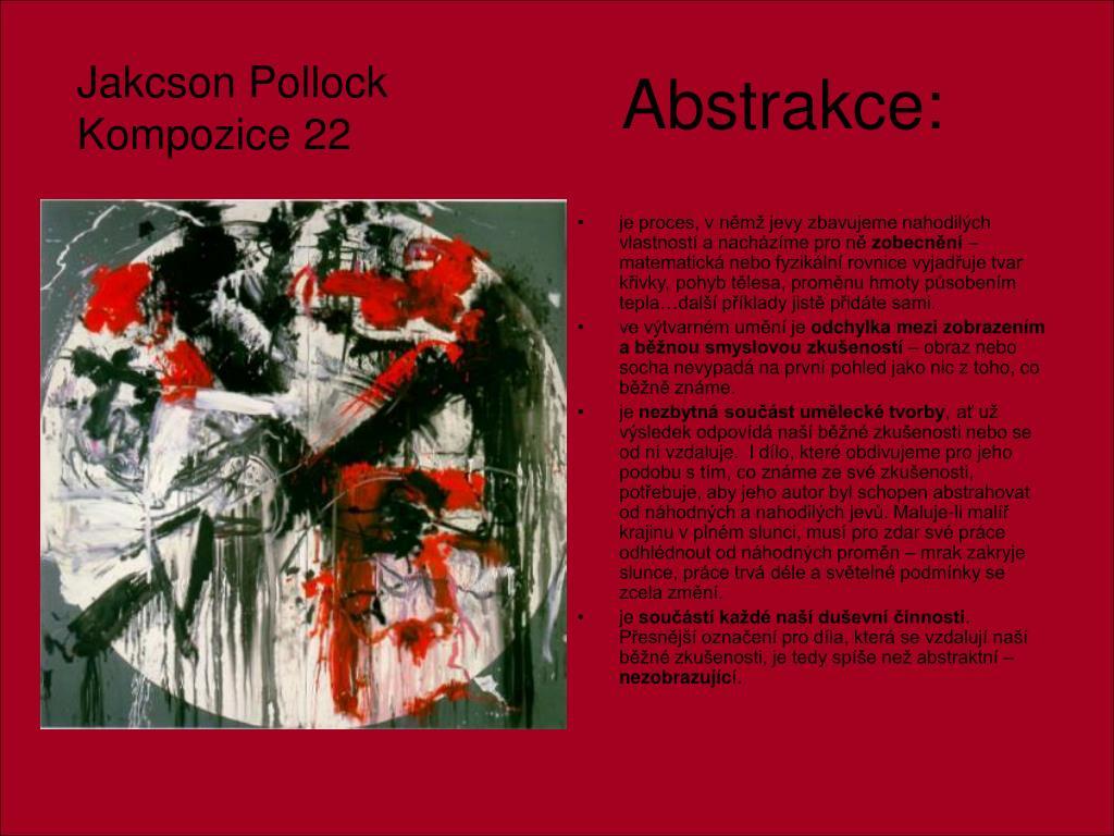 Abstrakce: