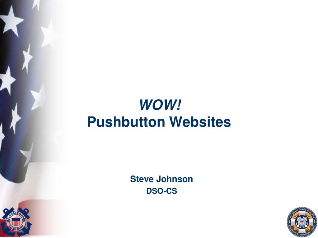 wow pushbutton websites l.