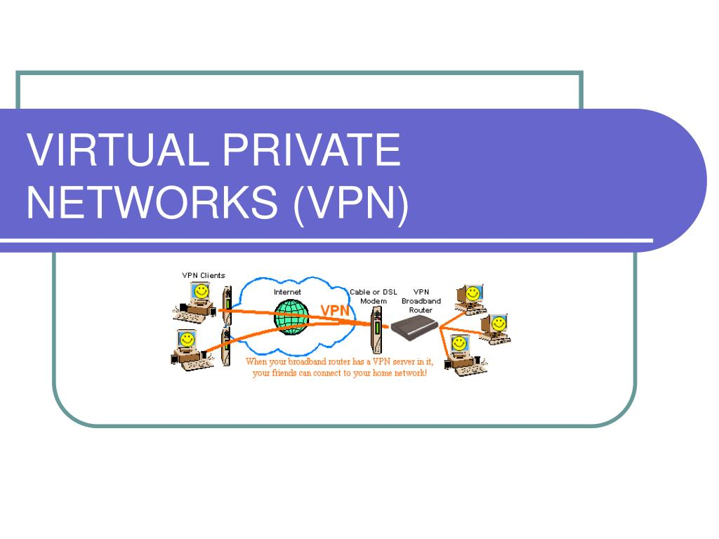 virtual private networks vpn l.