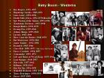 baby boom westerns