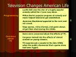 television changes american life7