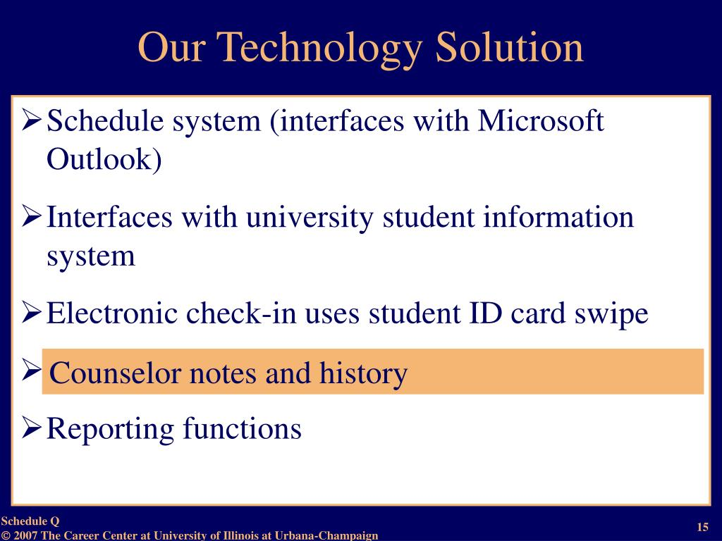 Our Technology Solution