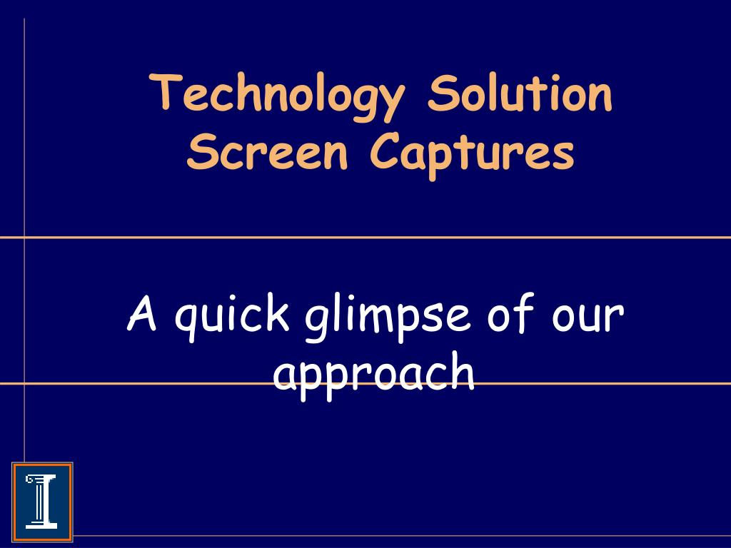 Technology Solution