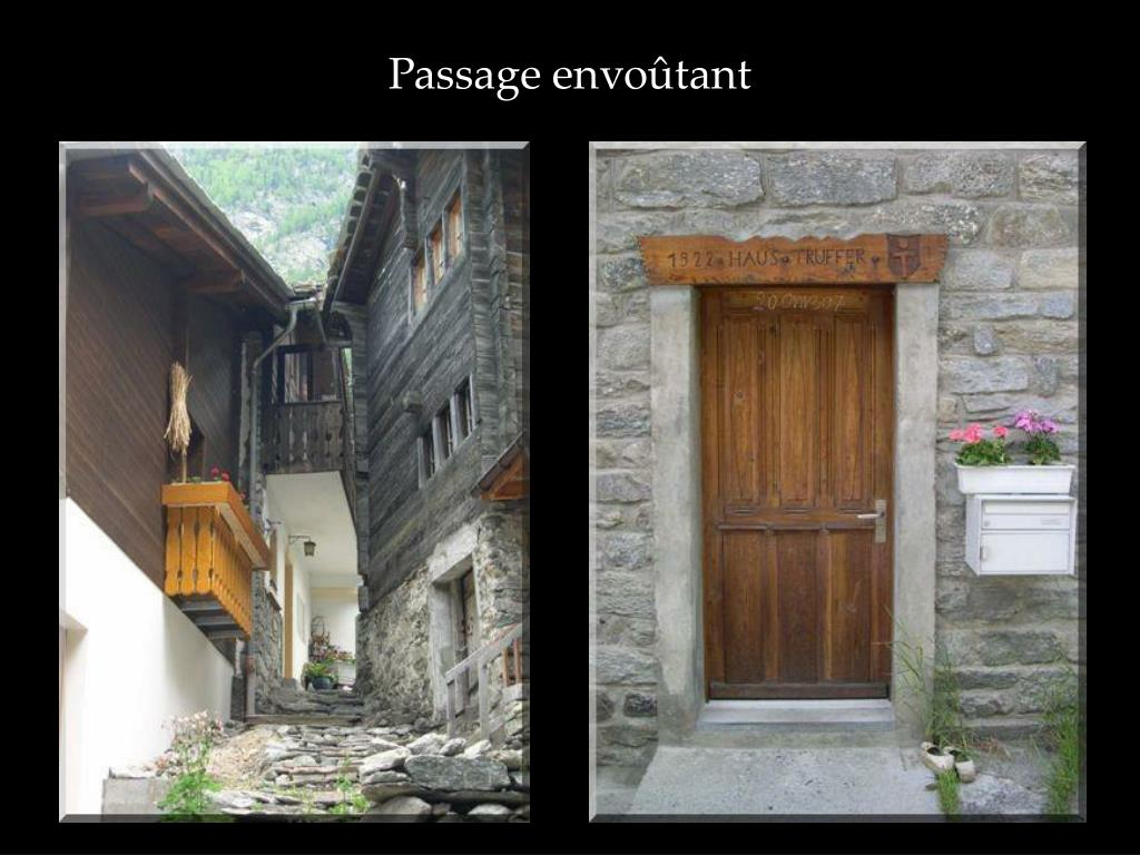 Passage envoûtant