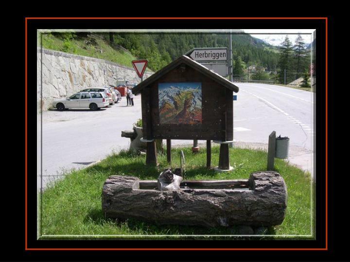 Petite excursion dans le village de mon papa juin 2007