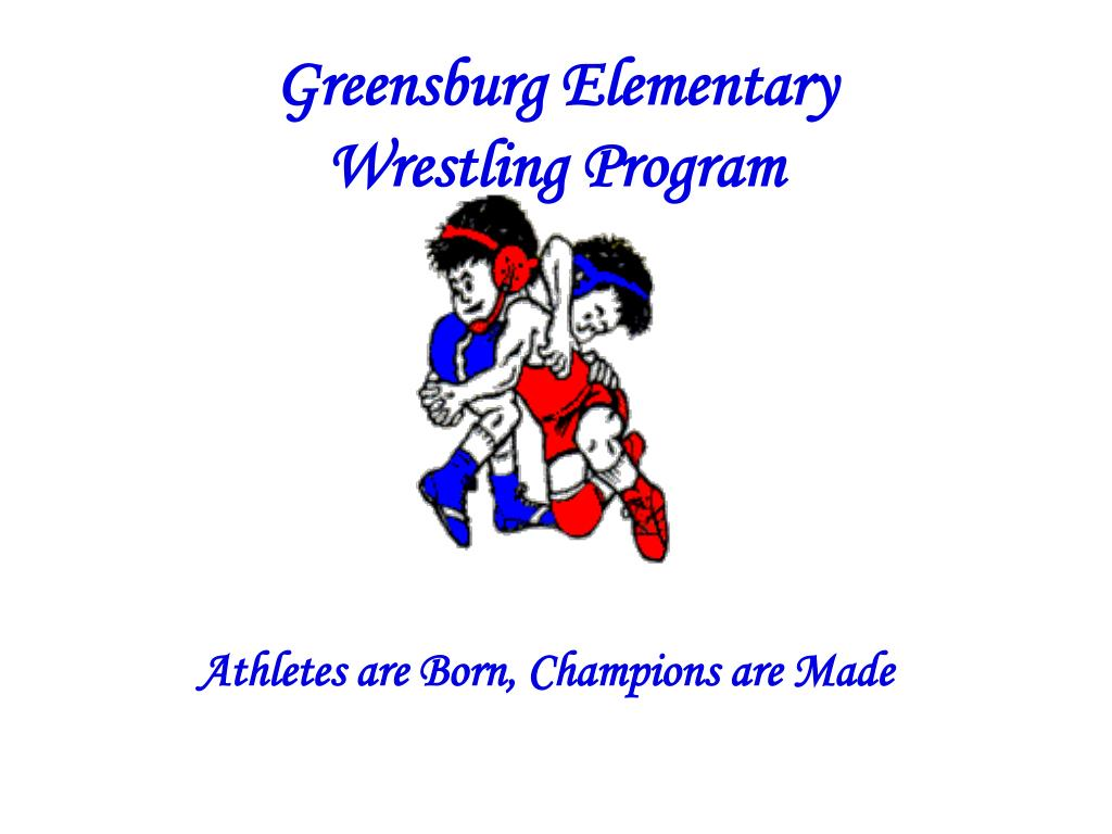 greensburg elementary wrestling program l.