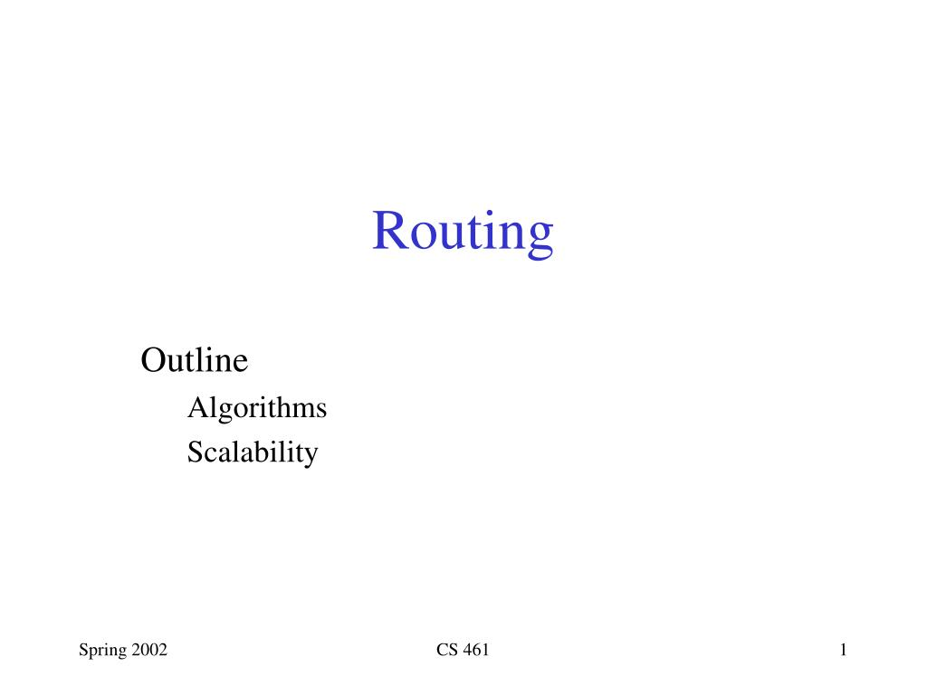 routing l.