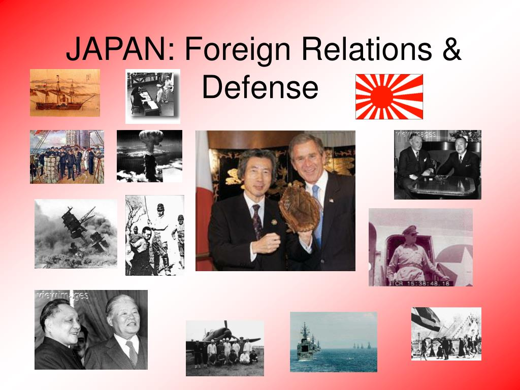 japan foreign relations defense l.