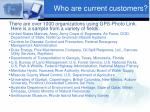 who are current customers