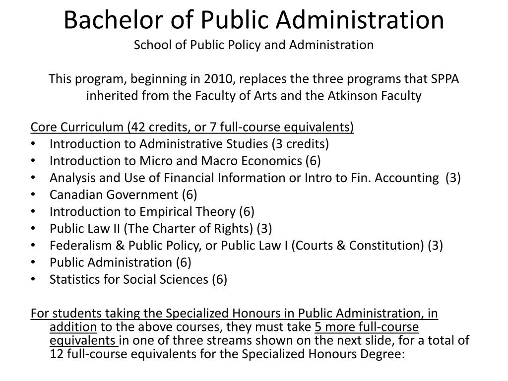 functions of public administration