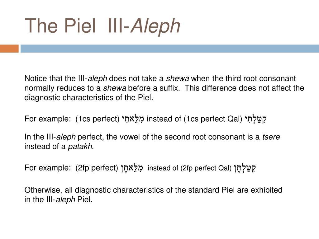 The Piel  III-