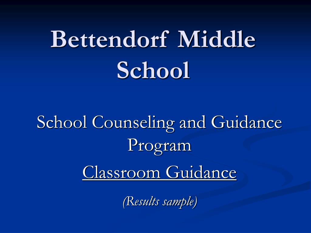 Bettendorf Middle School