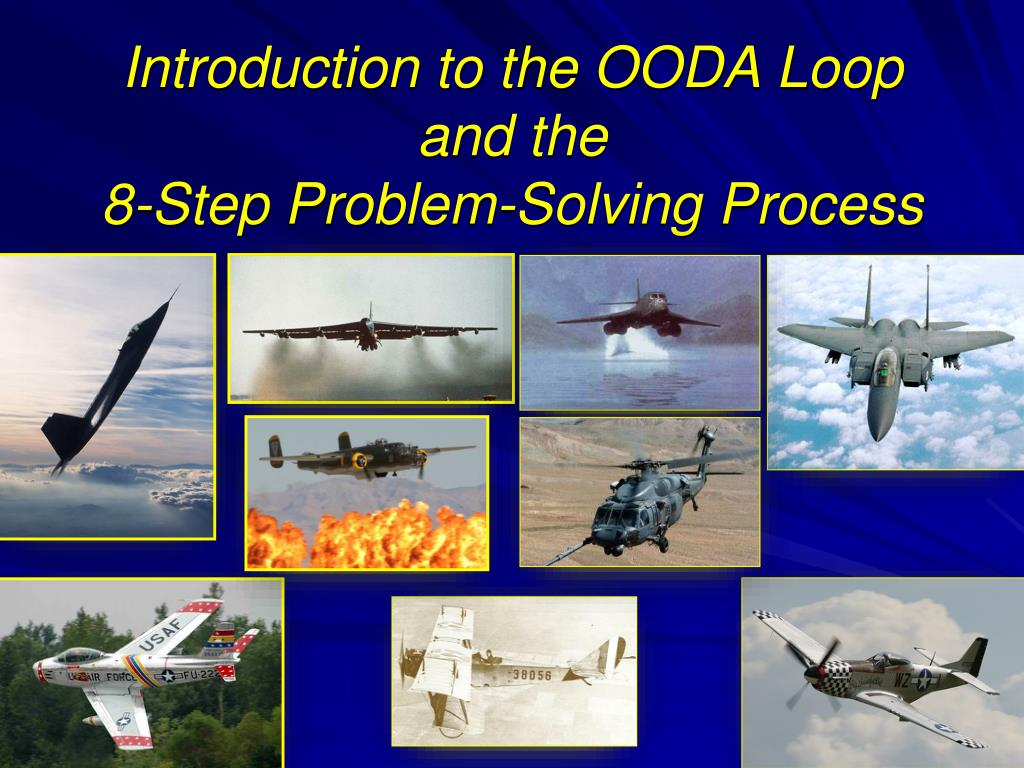 introduction to the ooda loop and the 8 step problem solving process l.